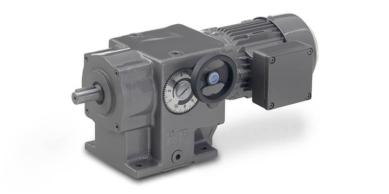 AM-Serie - Stirnrad-Verstellgetriebemotoren